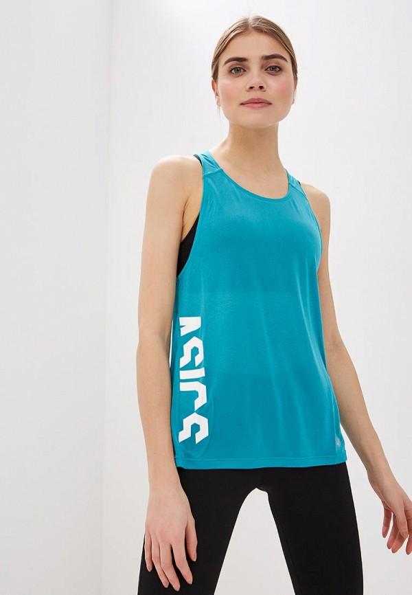 Фото - Майку спортивная ASICS бирюзового цвета