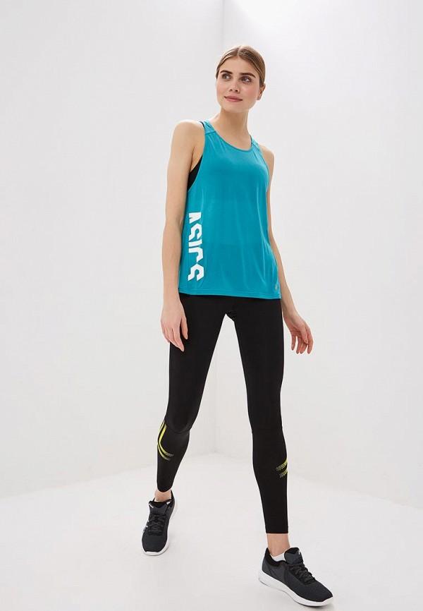 Фото 2 - Майку спортивная ASICS бирюзового цвета