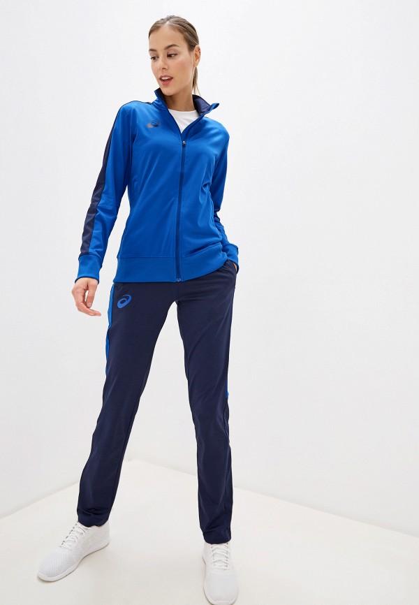 женский спортивный костюм asics, синий