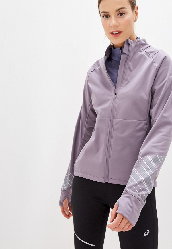 женская куртка asics, серая
