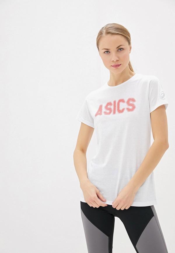 Футболка спортивная ASICS ASICS AS455EWFPTN6 футболка спортивная asics asics as455emout04