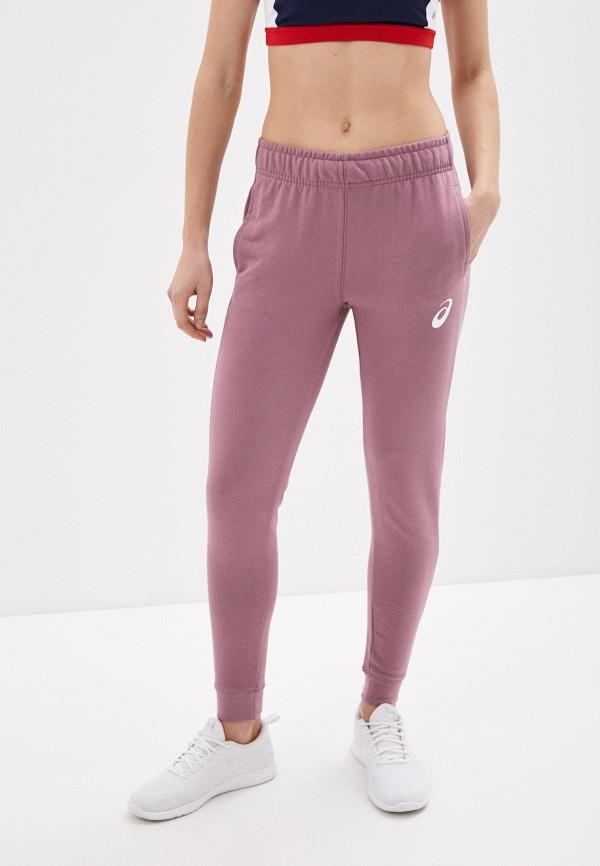 женские спортивные брюки asics, розовые