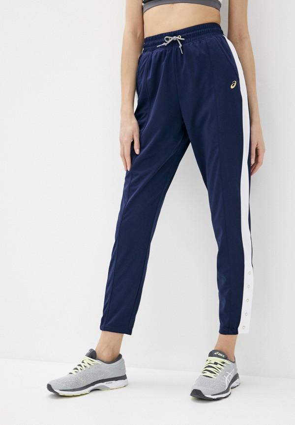 женские спортивные брюки asics, синие