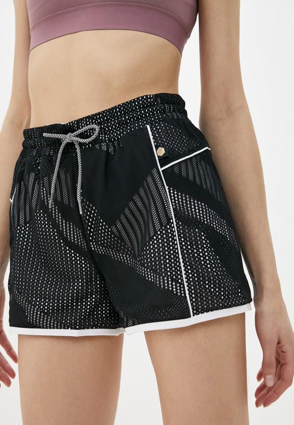 женские спортивные шорты asics, черные