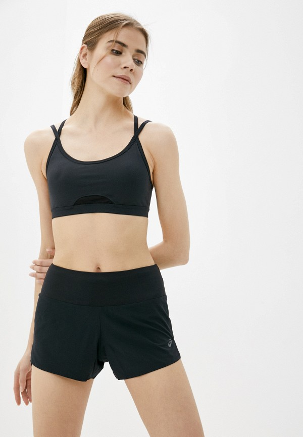 женский спортивный костюм asics, черный
