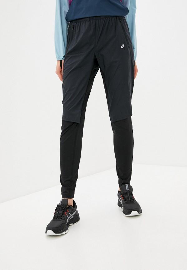 женские спортивные брюки asics, черные