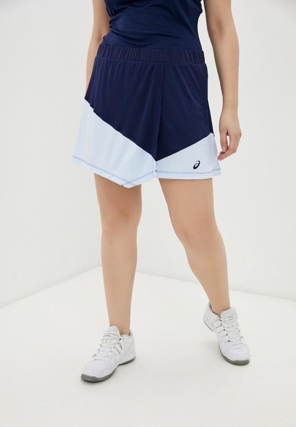 женская спортивные юбка asics, синяя