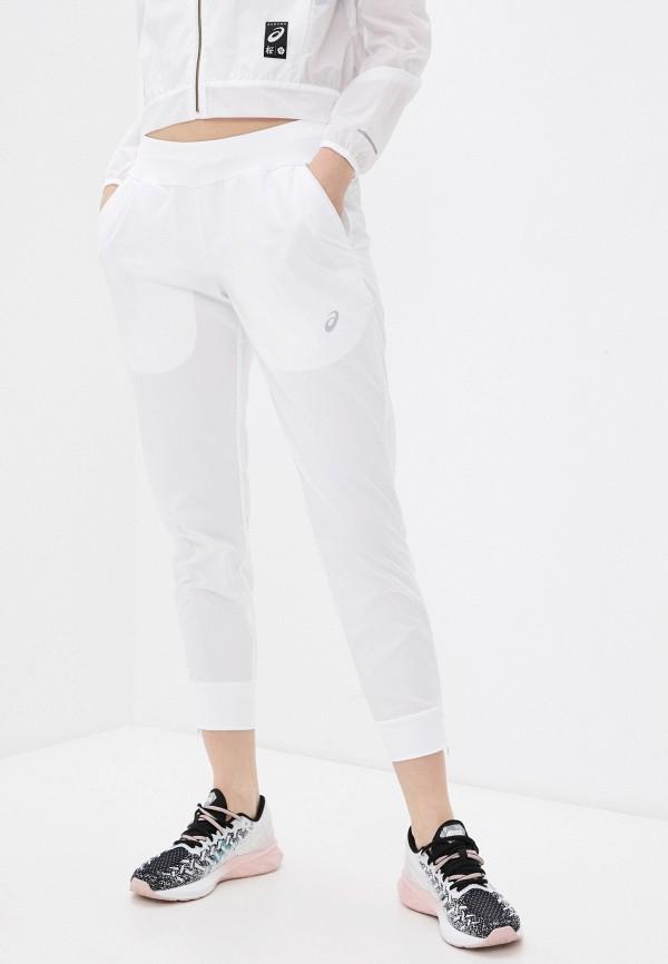 женские спортивные брюки asics, белые