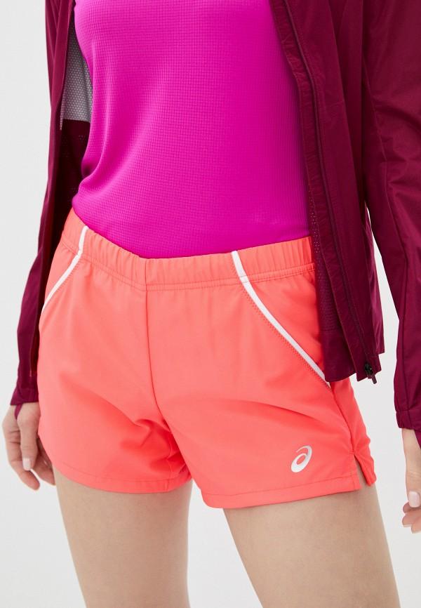 женские спортивные шорты asics, розовые