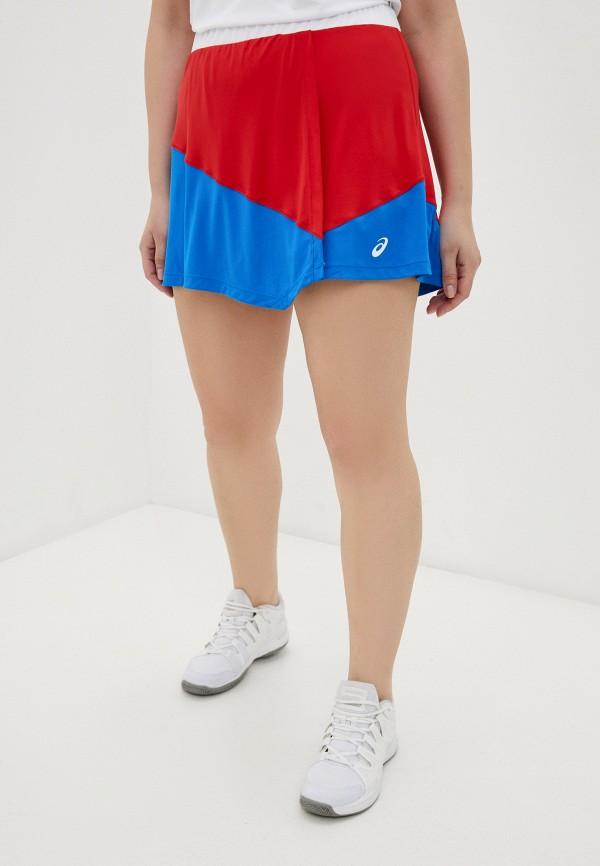 женская спортивные юбка asics, разноцветная