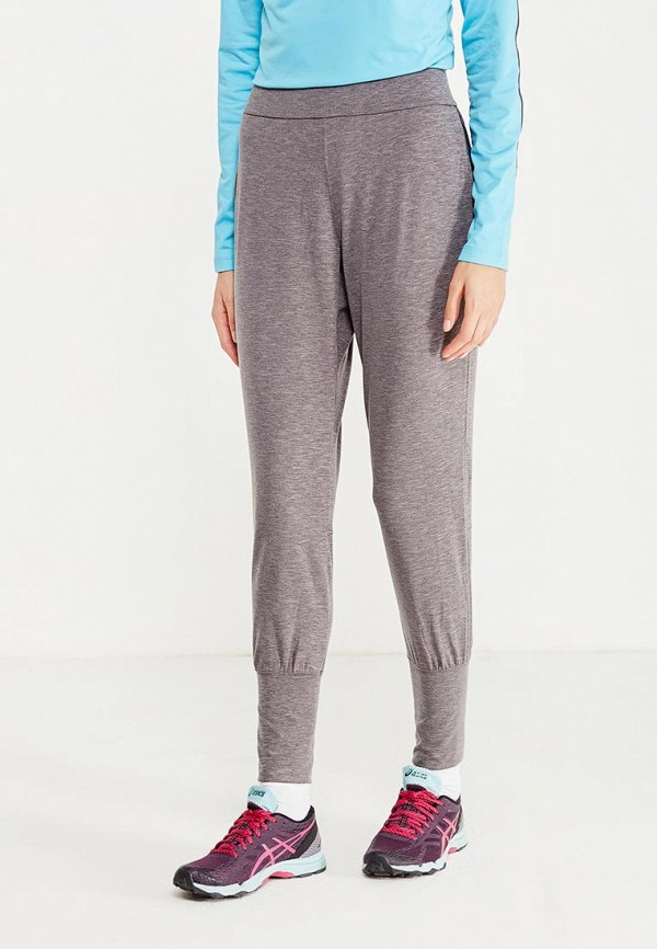 женские спортивные спортивные брюки asics, серые