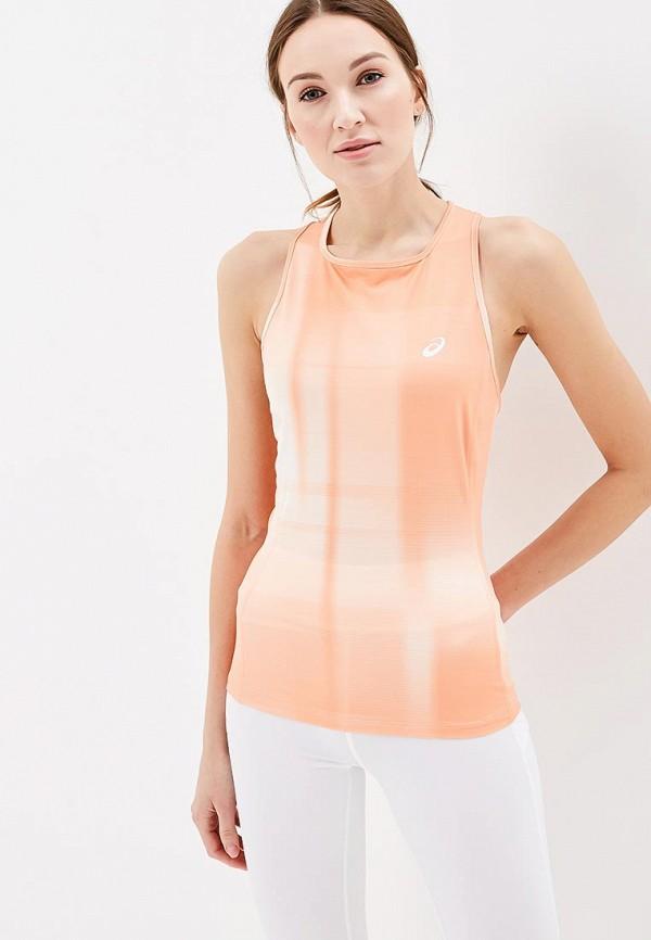Майка спортивная ASICS ASICS AS455EWZTG97 футболка asics футболка layering top