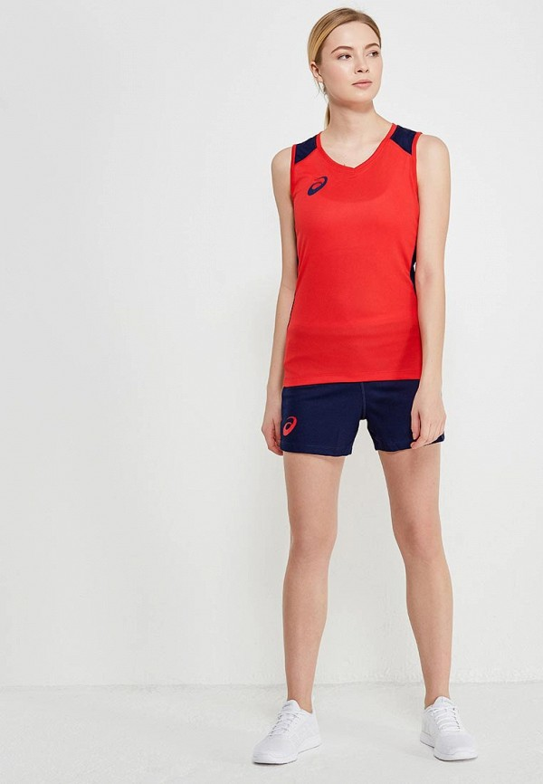 Костюм спортивный ASICS ASICS AS455EWZTJ54 костюм спортивный женский asics woman sleeveless set майка шорты цвет белый синий 156861 0001 размер xxl 52