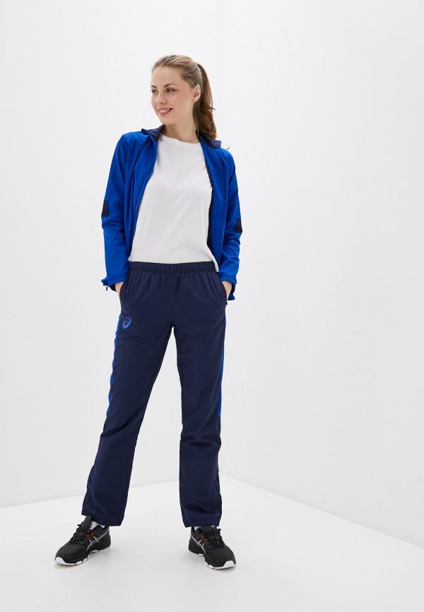 женский спортивные спортивный костюм asics, синий