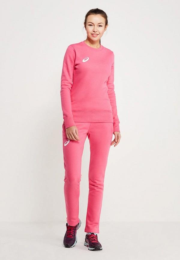 женский спортивные спортивный костюм asics, розовый
