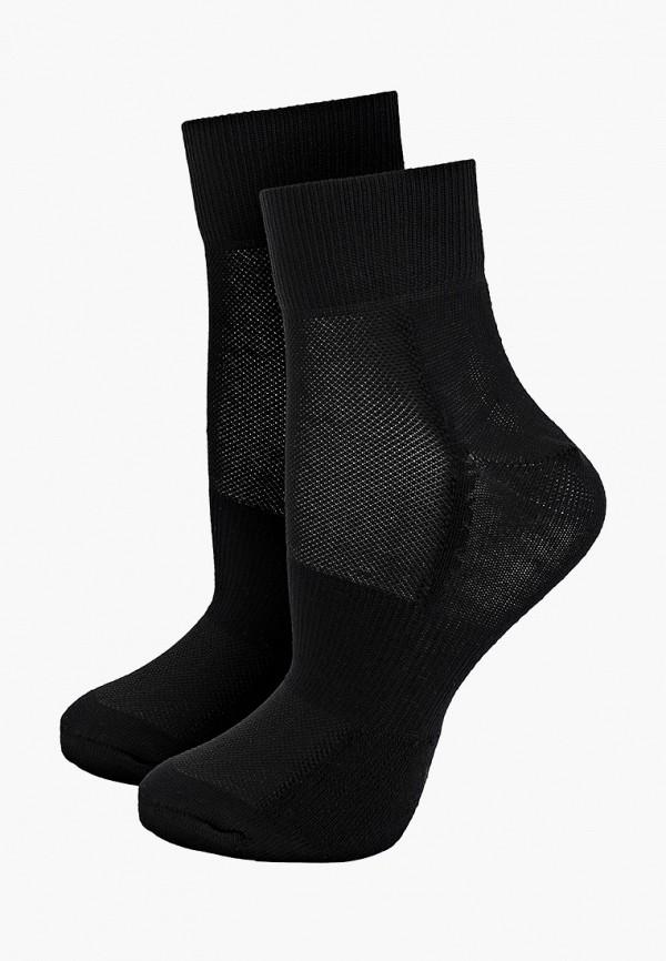 женские носки asics, черные