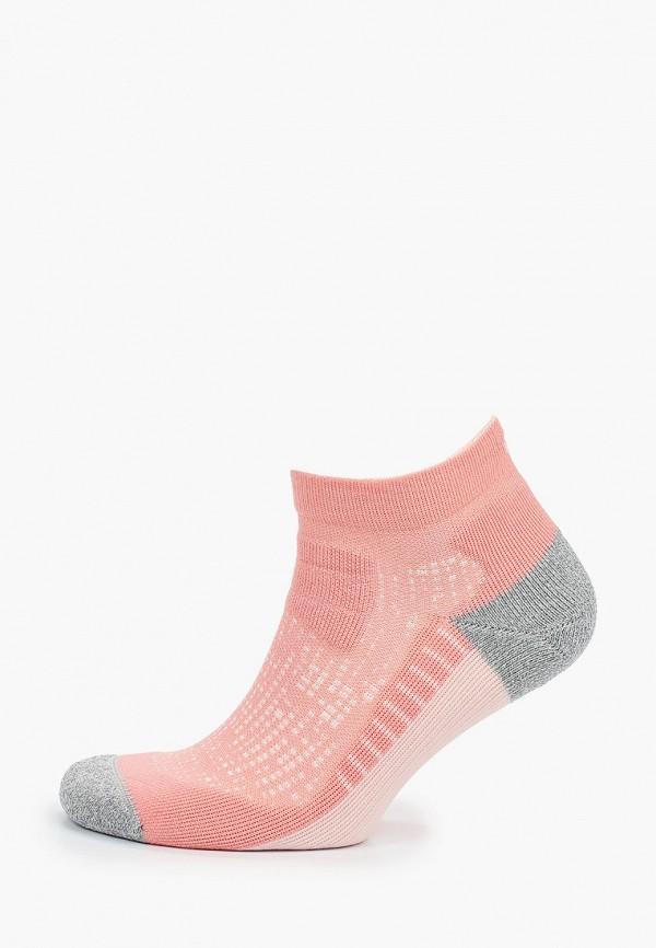 женские носки asics, розовые