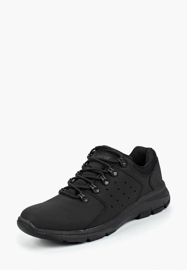 Купить Ботинки трекинговые Ascot, Ascot AS821AMCJTV0, черный, Осень-зима 2018/2019