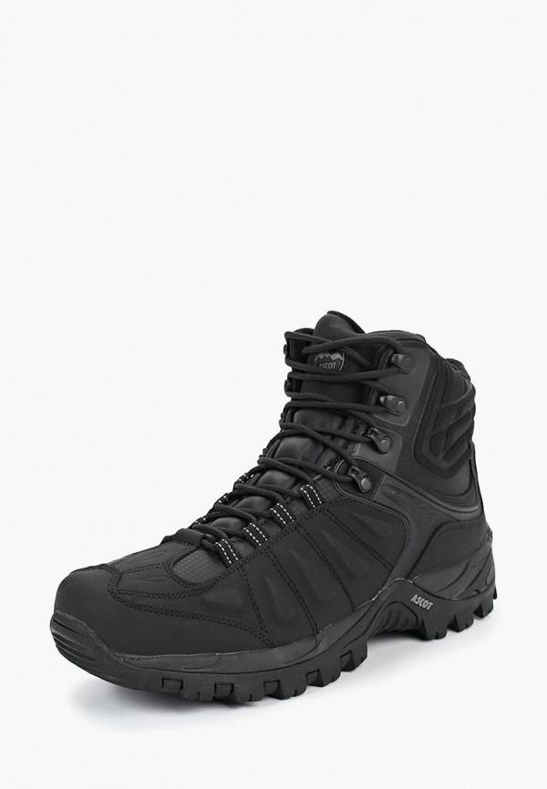 Купить Ботинки трекинговые Ascot, Ascot AS821AMCJTW2, черный, Осень-зима 2018/2019