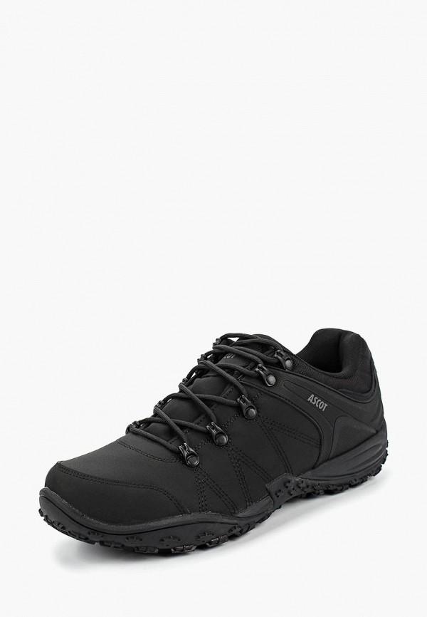 Купить Ботинки трекинговые Ascot, Ascot AS821AMCJTX9, черный, Осень-зима 2018/2019