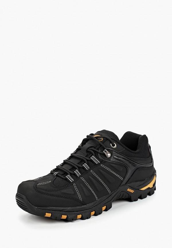 Купить Ботинки трекинговые Ascot, Ascot AS821AMCJTY3, черный, Осень-зима 2018/2019