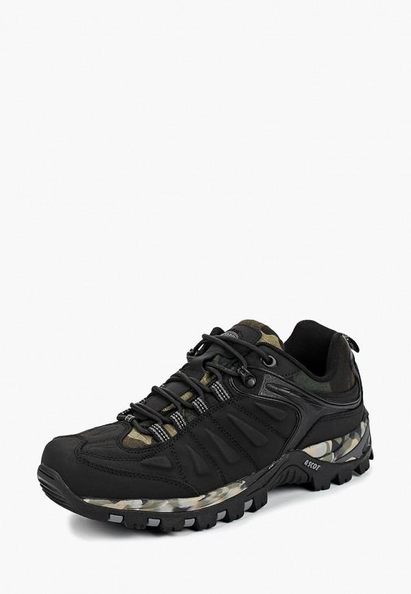 Купить Ботинки трекинговые Ascot, Ascot AS821AMCJTY4, черный, Осень-зима 2018/2019