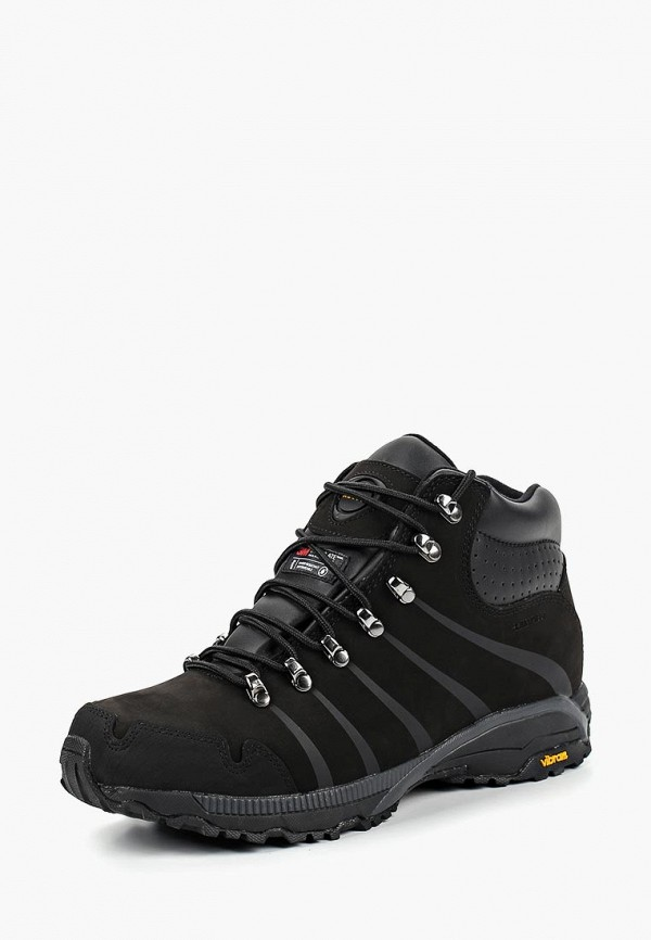 Купить Ботинки трекинговые Ascot, Ascot AS821AMCJUB1, черный, Осень-зима 2018/2019