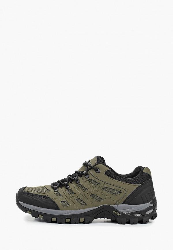 мужские ботинки ascot, хаки