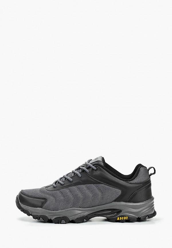 мужские кроссовки ascot, серые