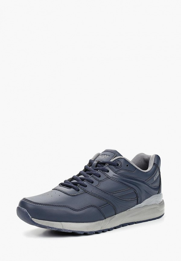 Фото 2 - мужские кроссовки Ascot синего цвета
