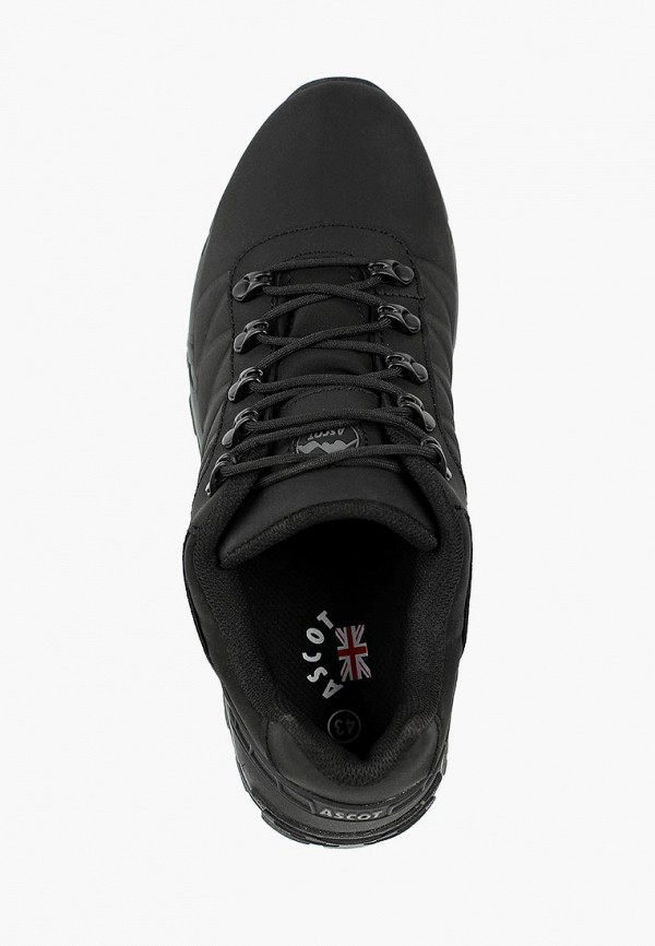 Фото 4 - мужские кроссовки Ascot черного цвета