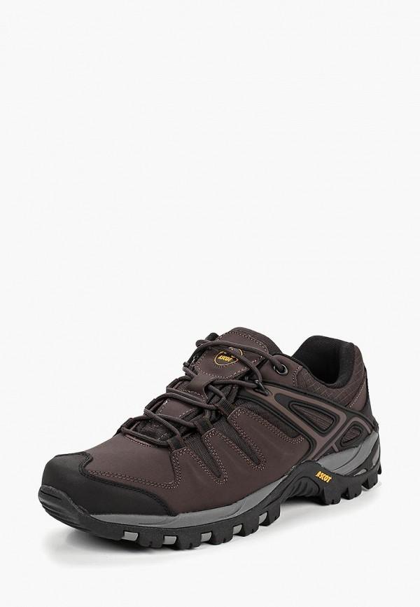 Фото 2 - мужские кроссовки Ascot коричневого цвета