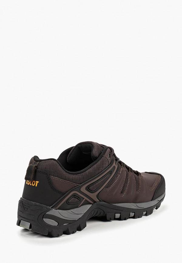 Фото 3 - мужские кроссовки Ascot коричневого цвета