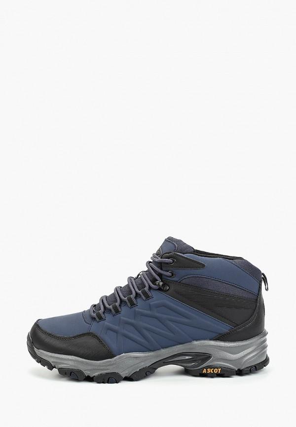 мужские ботинки ascot, синие