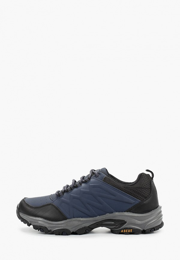 мужские низкие кроссовки ascot, синие