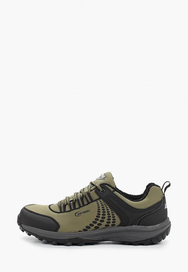 мужские низкие кроссовки ascot, хаки