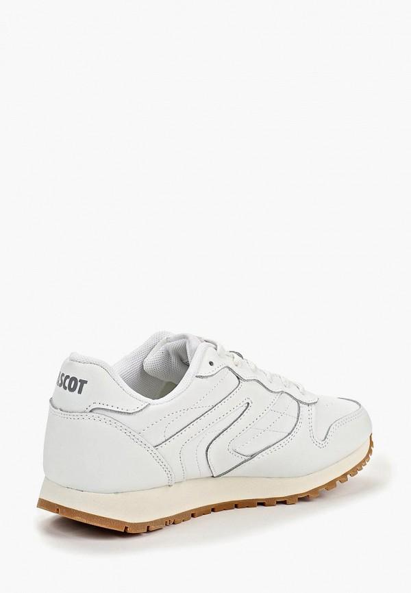 Фото 3 - женские кроссовки Ascot белого цвета