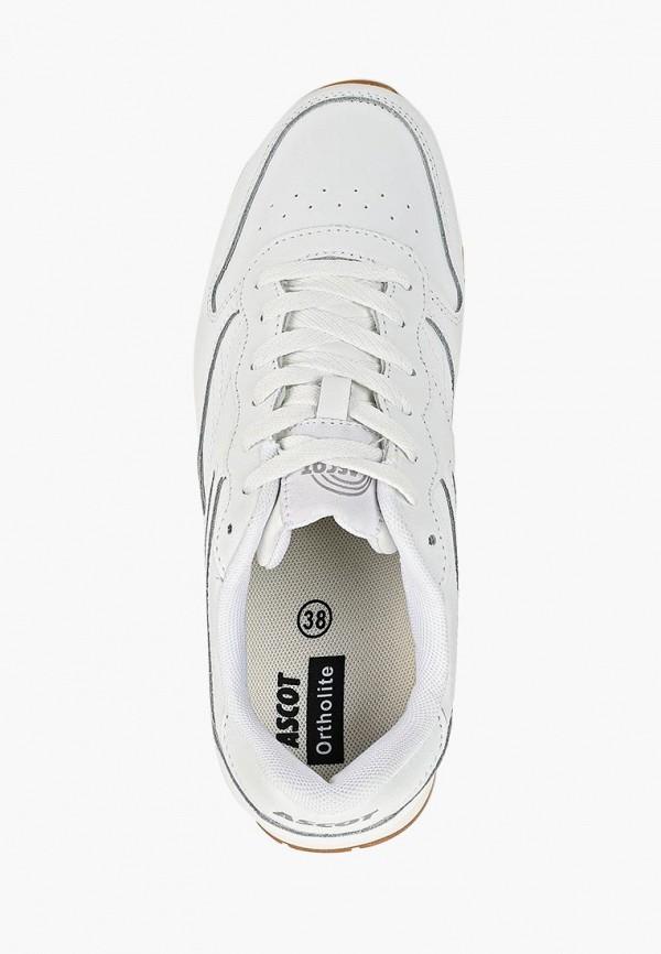 Фото 4 - женские кроссовки Ascot белого цвета