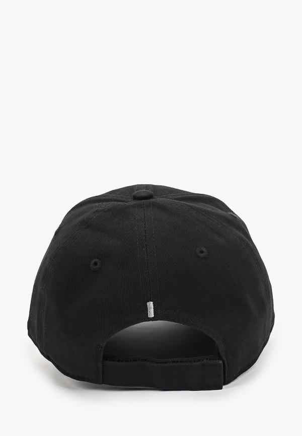 Фото 2 - Бейсболка Atributika & Club™ черного цвета