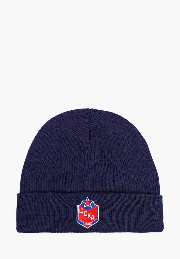 шапка atributika & club для мальчика, синяя