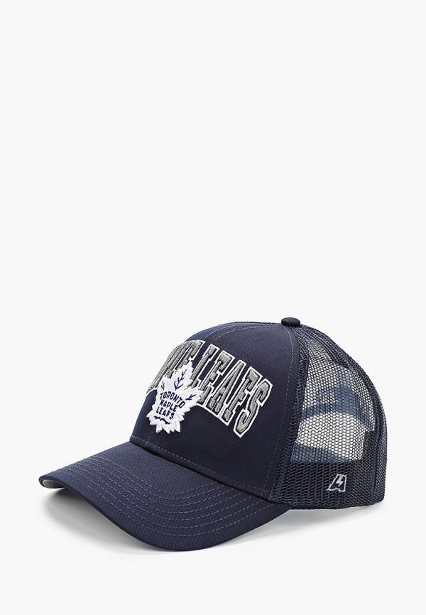 мужская бейсболка atributika & club, синяя