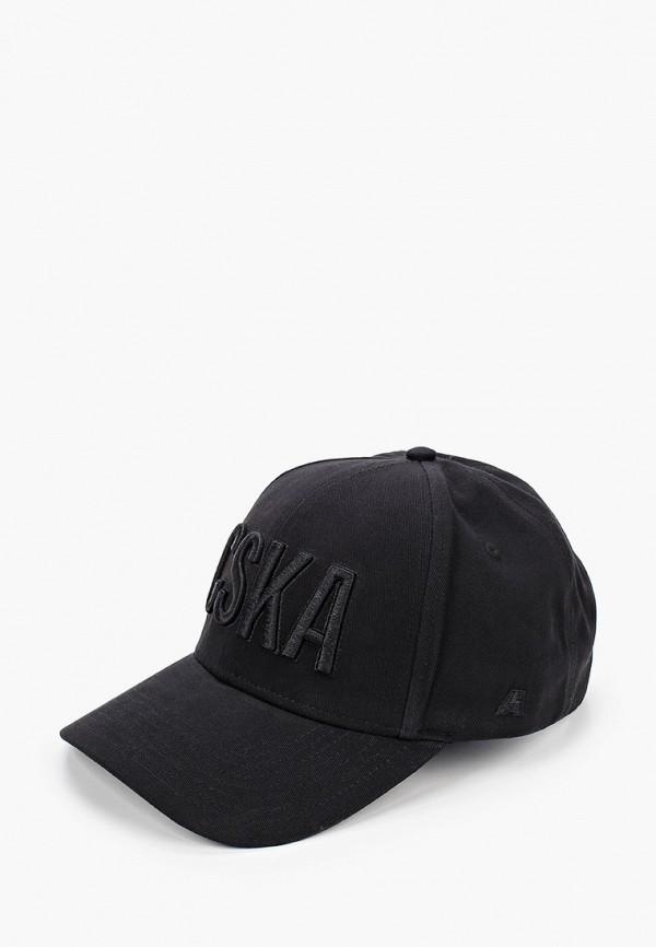 мужская бейсболка atributika & club, черная