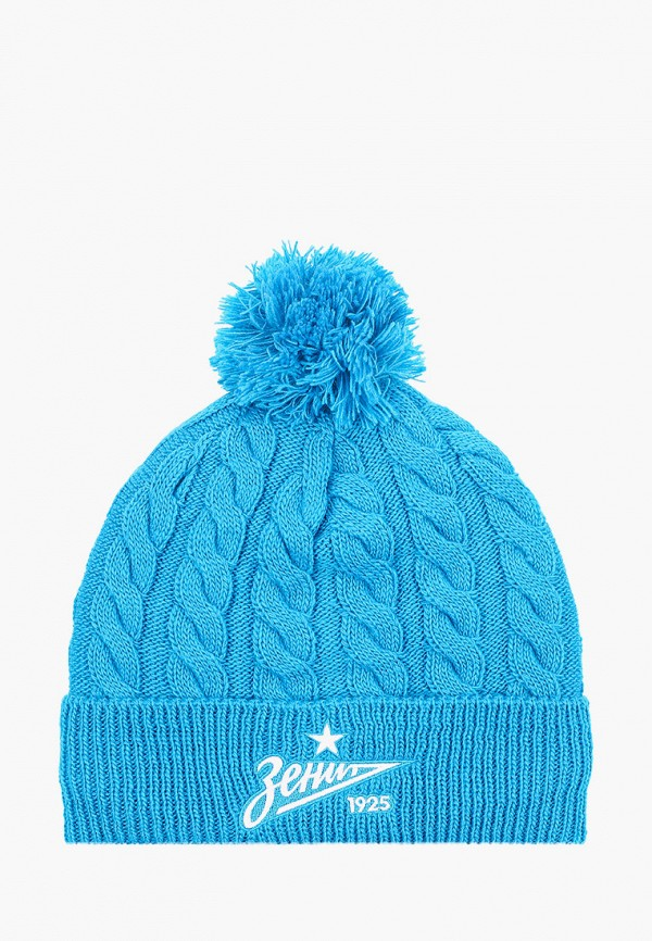 женская шапка atributika & club, голубая
