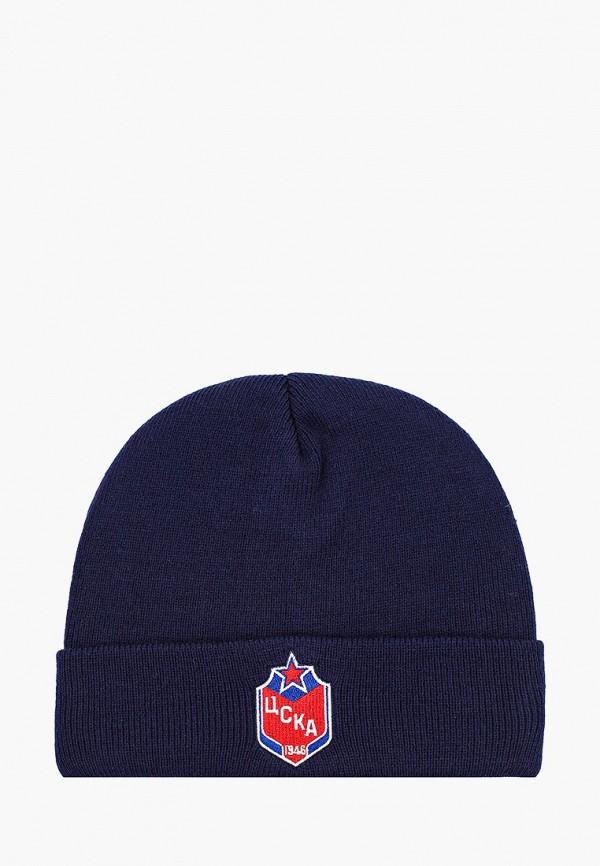 женская шапка atributika & club, синяя