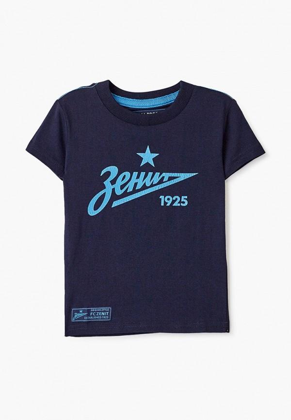 футболка atributika & club для мальчика, синяя