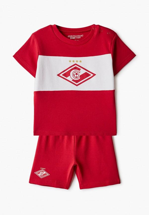 спортивный костюм atributika & club для мальчика, красный