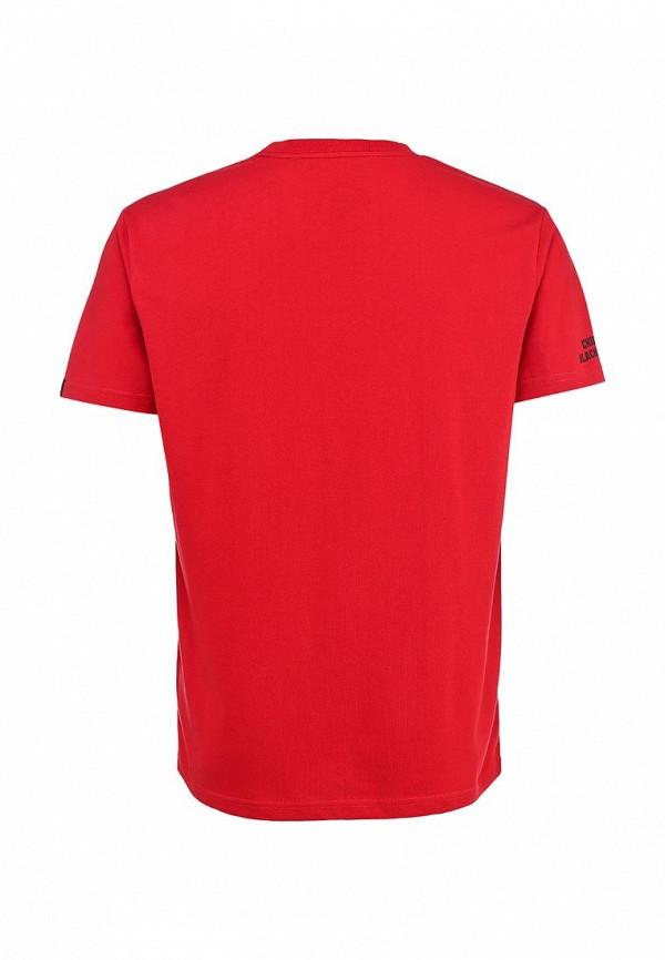 Фото 2 - Футболку Atributika & Club™ красного цвета