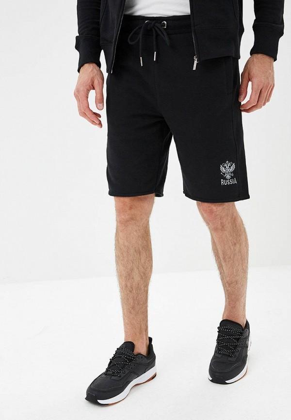 мужские повседневные шорты atributika & club, черные