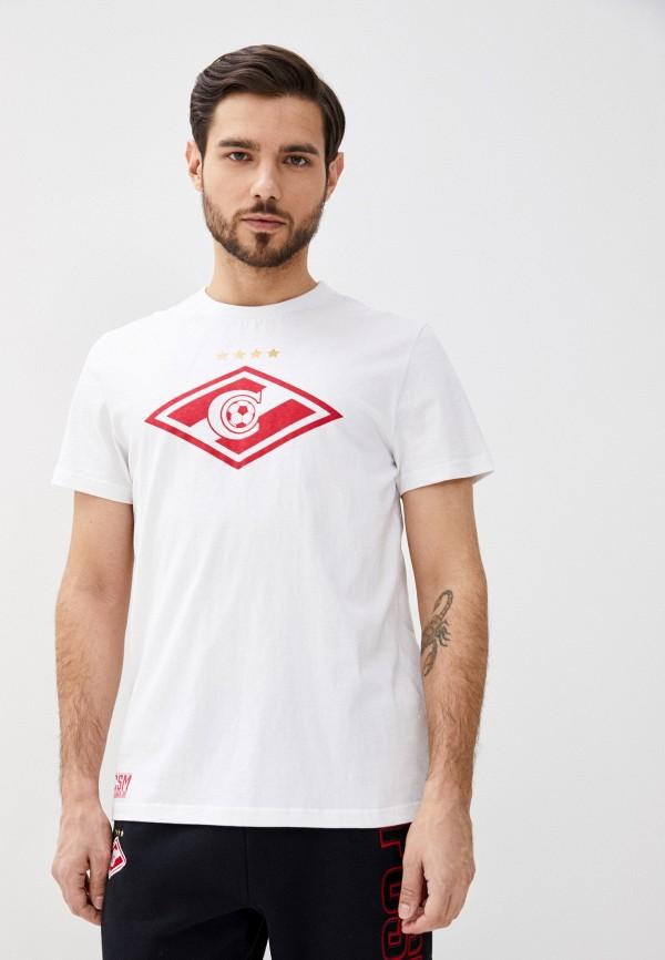 мужская спортивные футболка atributika & club, белая