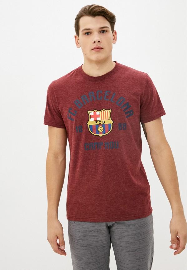 мужская спортивные футболка atributika & club, бордовая